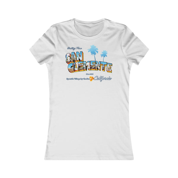 Greetings from San Clemente - Women's Shirt