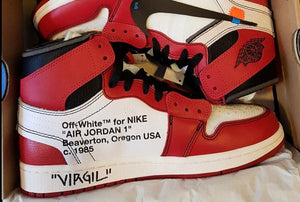 5ec784633c86c6 off white jordan 1 chicago signed by virgil abloh