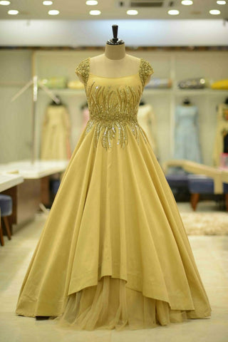 DAIMOND PEACH GOWN