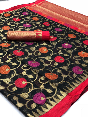 Heavy Silk Kota Saree with Zamdani Work
