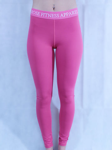 Rosefit Sculpture Leggings (Pink)