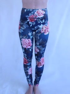 Rosefit Garden Flower Leggings