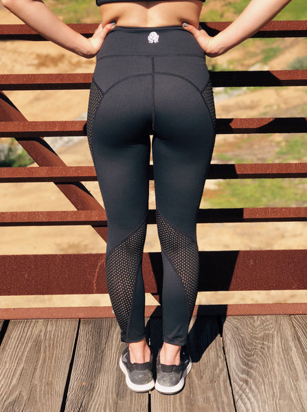 RoseFit Basics: Mesh Leggings