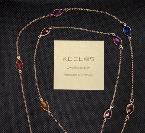 Spring colorful necklace - www.keclos.com