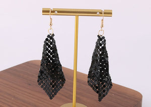 Sequin Dangle Earrings