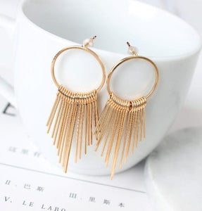 Vintage Tassel Earrings - www.keclos.com