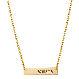 Love Mama Necklace - www.keclos.com