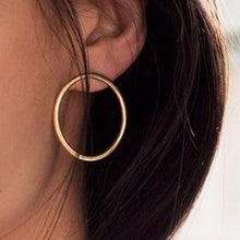 Circle Hoop Earrings - www.keclos.com