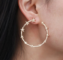 Star earrings - www.keclos.com