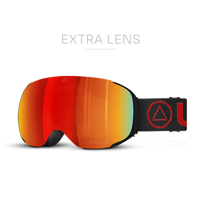 Ski Goggles Helix Black / Red