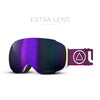 ISki Goggles Helix White / I-Purple