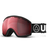 Black / Cherry Vertical Ski Goggles