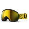 Vertical Ski Goggles Black / Yellow