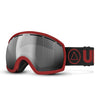 Red / Gray Vertical Ski Goggles