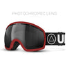 I-Vertical Red / Black Ski Goggles