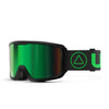 Maqhubu a likhalase tsa Ski Flight Black / Green