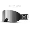 Gafas de Esqui Freeride V2 Black / Grey