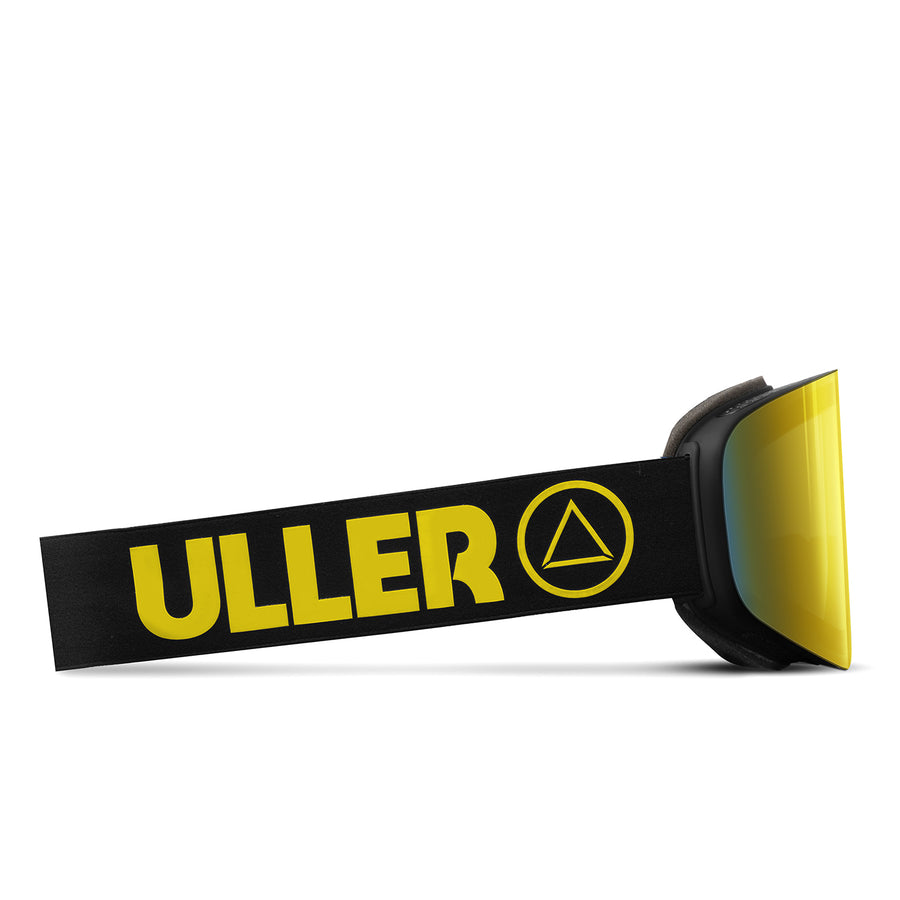 Ski Glasses Avalanche Black / Yellow