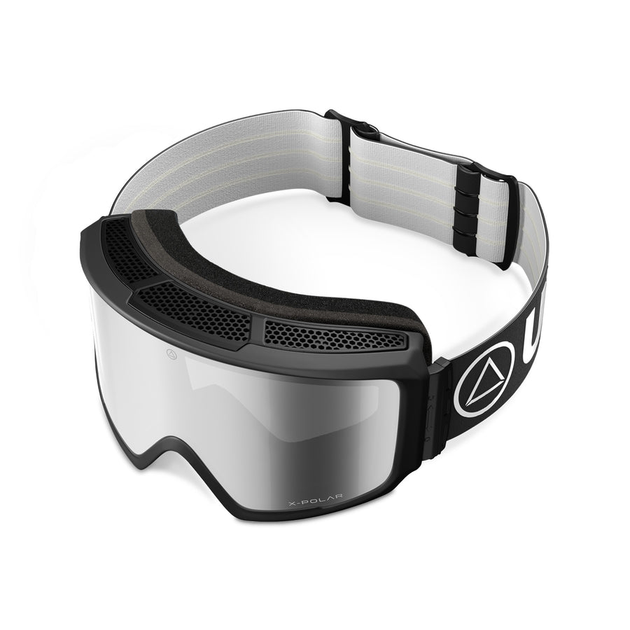 Ski and snowboard goggles for freeriders The Wall Black / Mirror - Ski goggles and Blizzard Goggles for men and women