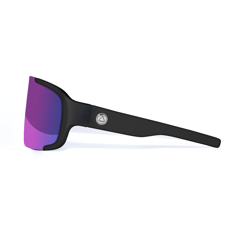 Bolt Black / Purple Sunglasses