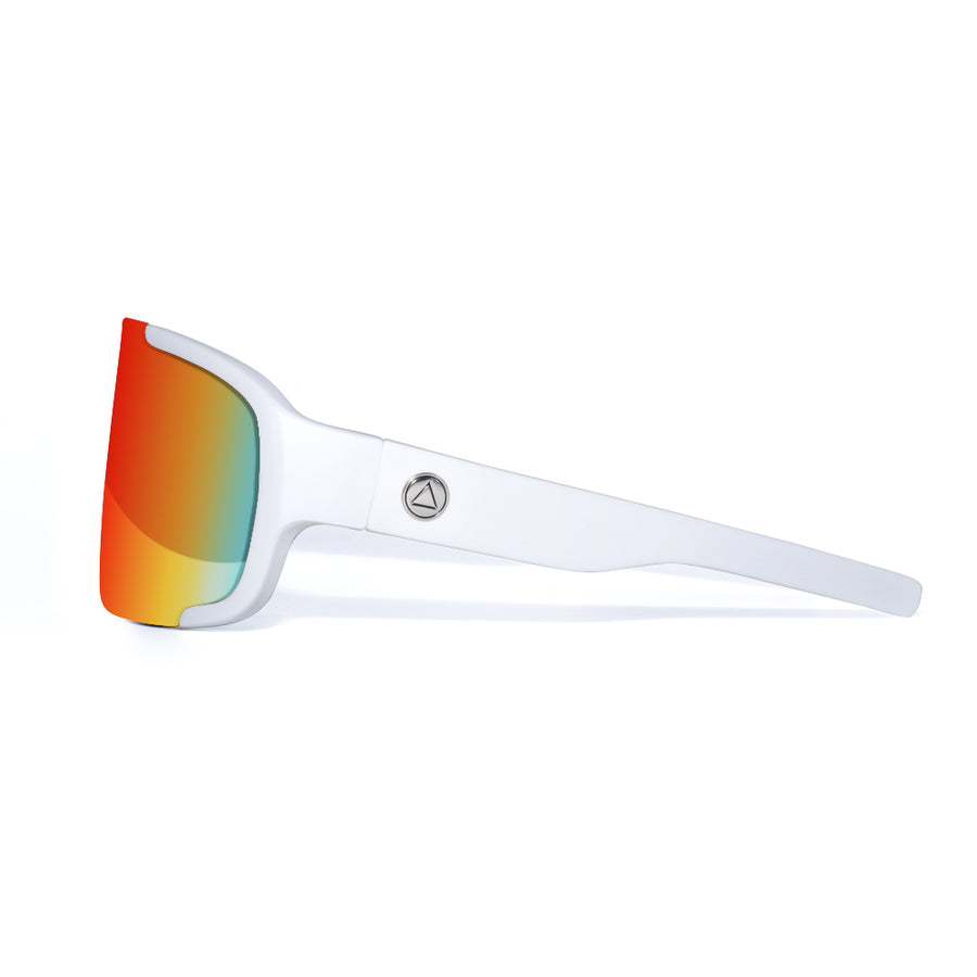 Bolt White / Red Sunglasses