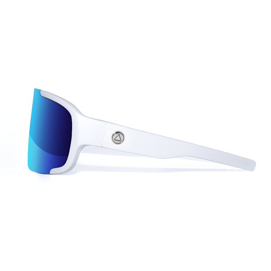 Bolt White / Blue Sunglasses
