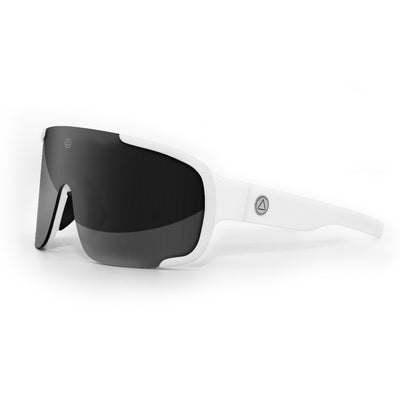 Bolt White / Black Sunglasses
