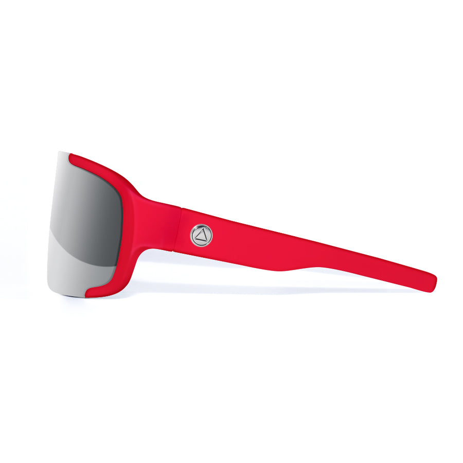 Bolt Red / Mirror Sunglasses