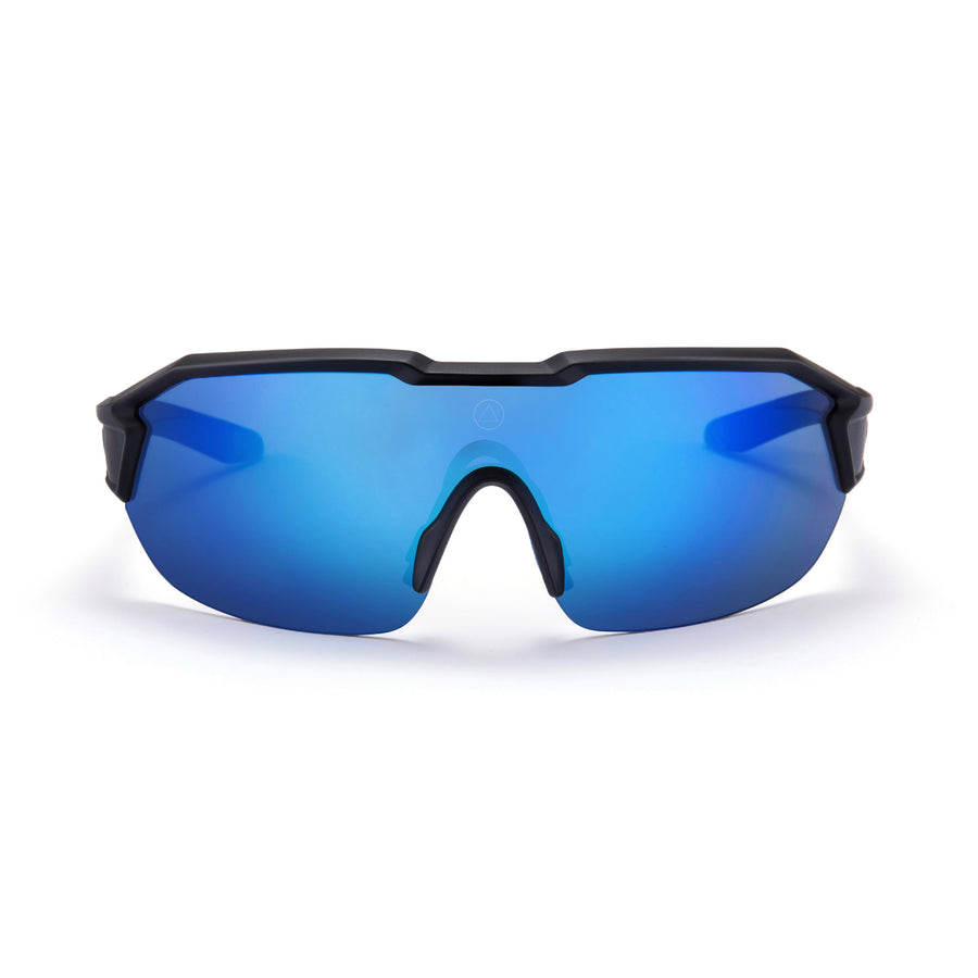 Sports cycling and running glasses for men and women Clarion Black / Blue