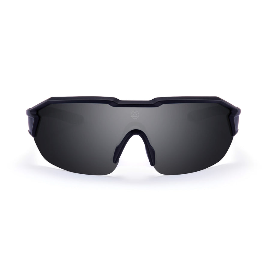 Sports cycling and running glasses for men and women Clarion Black / Black
