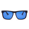 Soul Brown Tortoise / Sunglasses blue