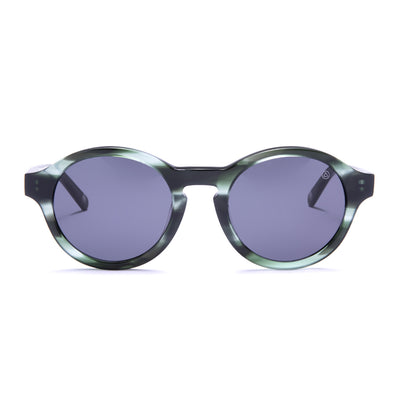Valley Green Tortoise / Black Sunglasses