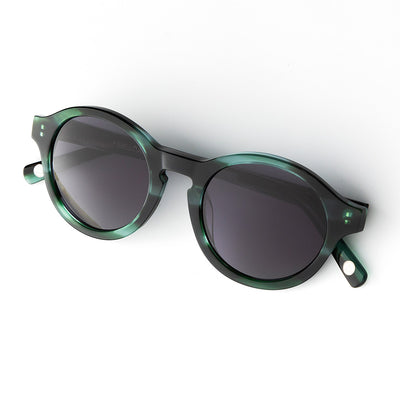 Valley Green Tortoise / Noir