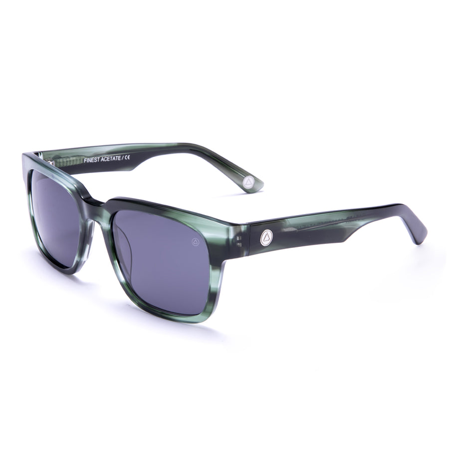 Hookipa Green Tortoise / Sunglasses Black