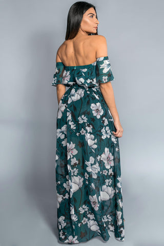 PALOMA DRESS [GREEN]