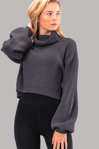 MEG SWEATER [STONE]
