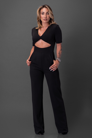 GABRIELLA JUMPSUIT [BLACK]