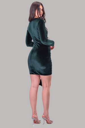 BEATRIS DRESS [EMERALD]