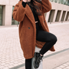 JAYDEN TEDDY COAT [RUST]