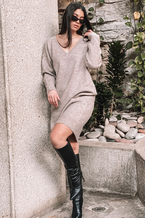 TYRA SWEATER DRESS