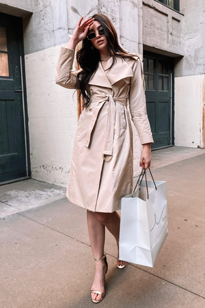 SHARON TRENCH COAT