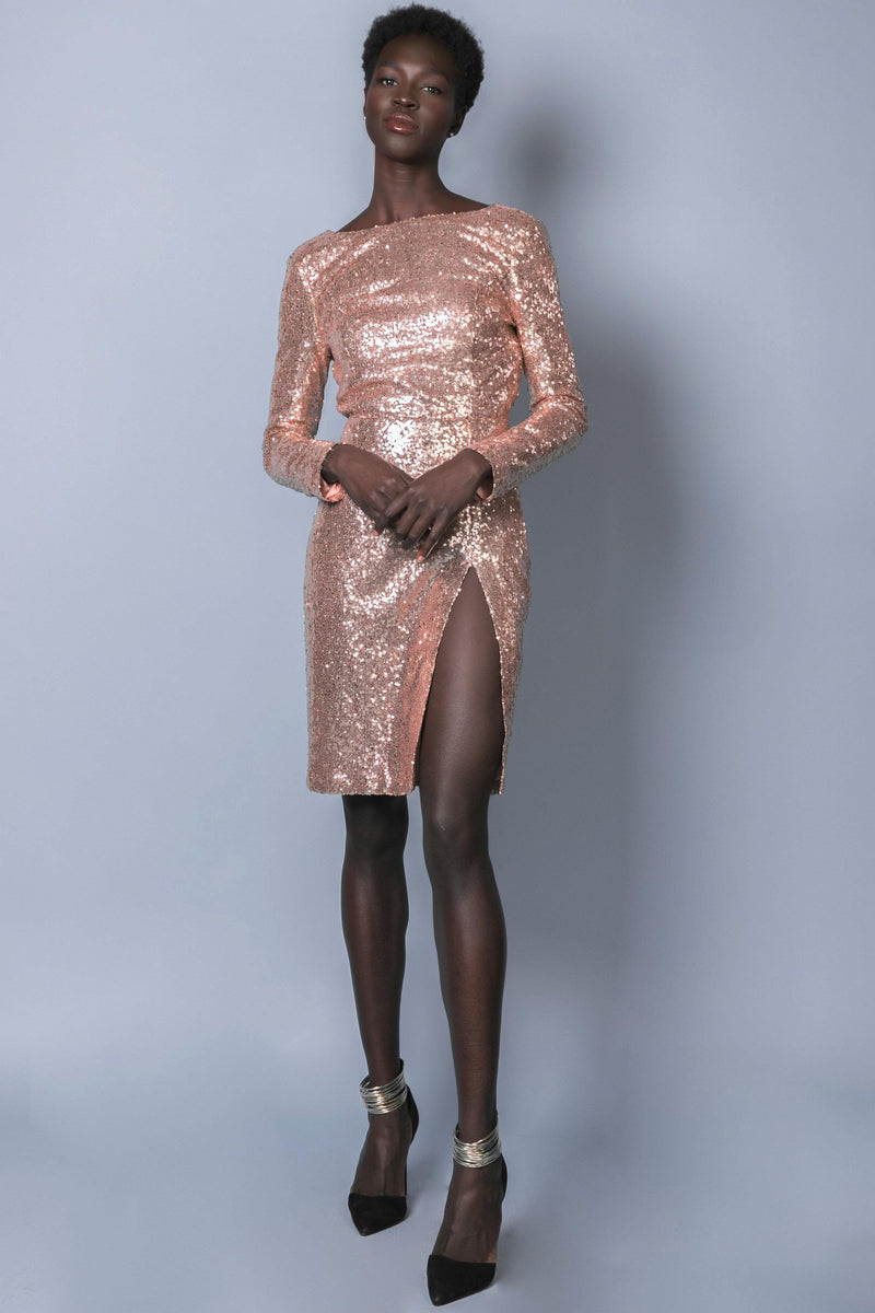 ALAIA SEQUIN DRESS