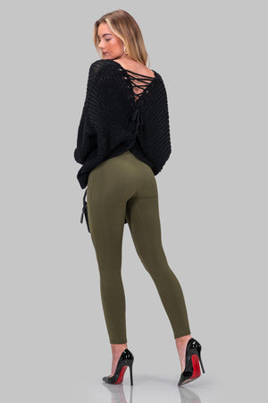 ALLIE LEGGINGS [OLIVE]