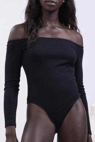 BYE T-SHIRT BODYSUIT [GRAY]