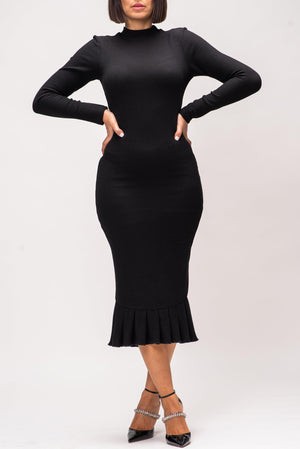 ANITA DRESS [BLACK]