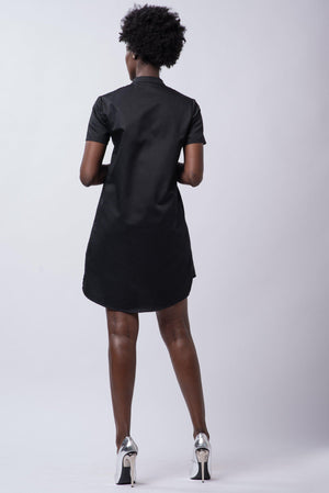 ASHLEE DRESS [BLACK]