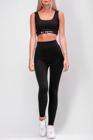 BYE LEGGINGS [BLACK]