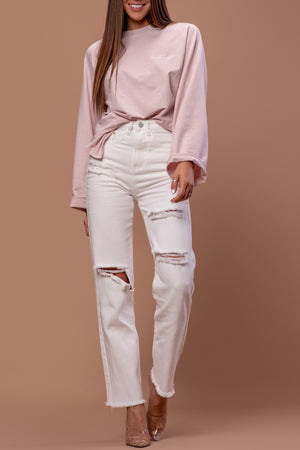 NORAH SWEATSHIRT [BLUSH]