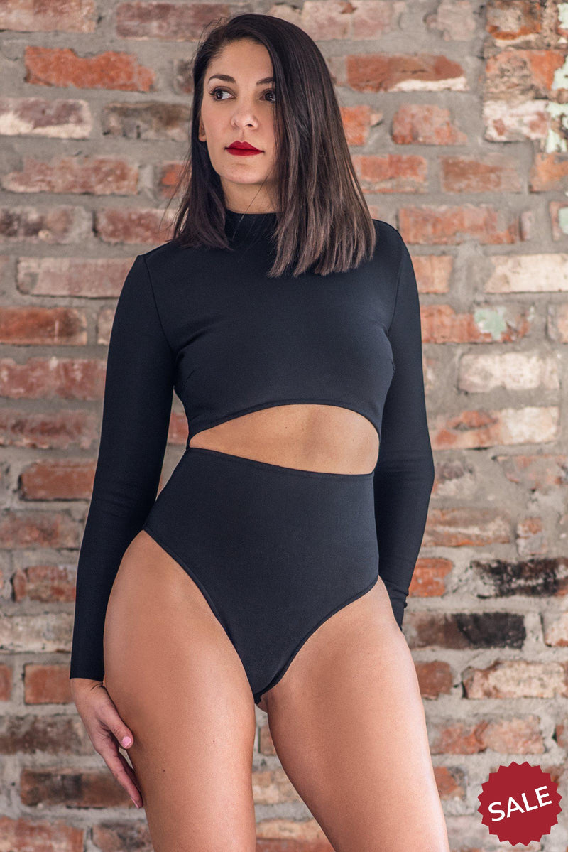 BRIA BODYSUIT [BLACK]