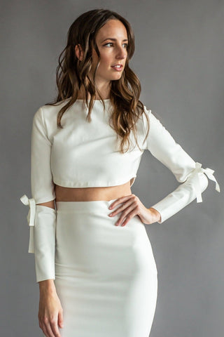 NATALIE BANDAGE CROP TOP